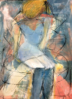 Karen Cappotto - Seated Girl - 2011