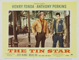 Anthony Perkins - The Tin Star - 1957