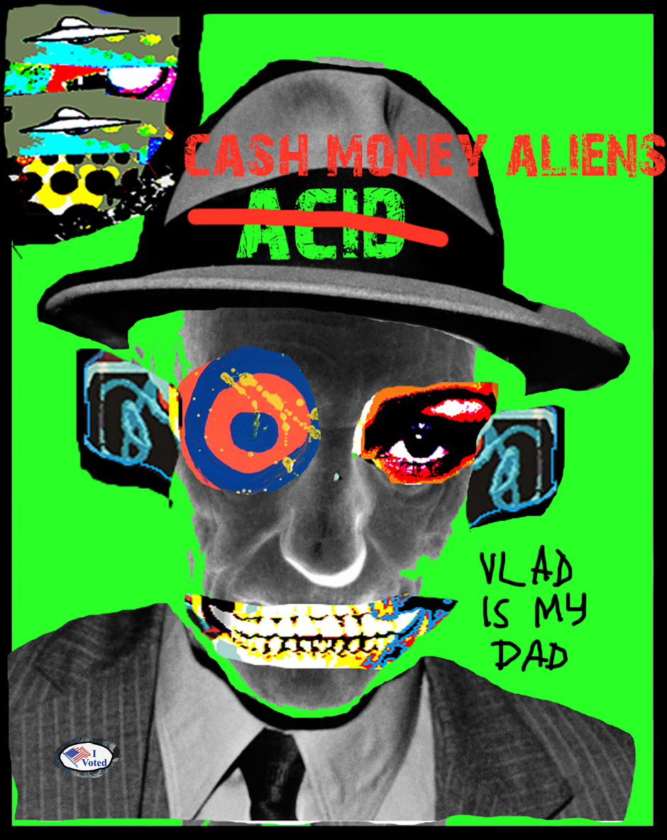Cash Money Aliens by Joey Mars - 12042016