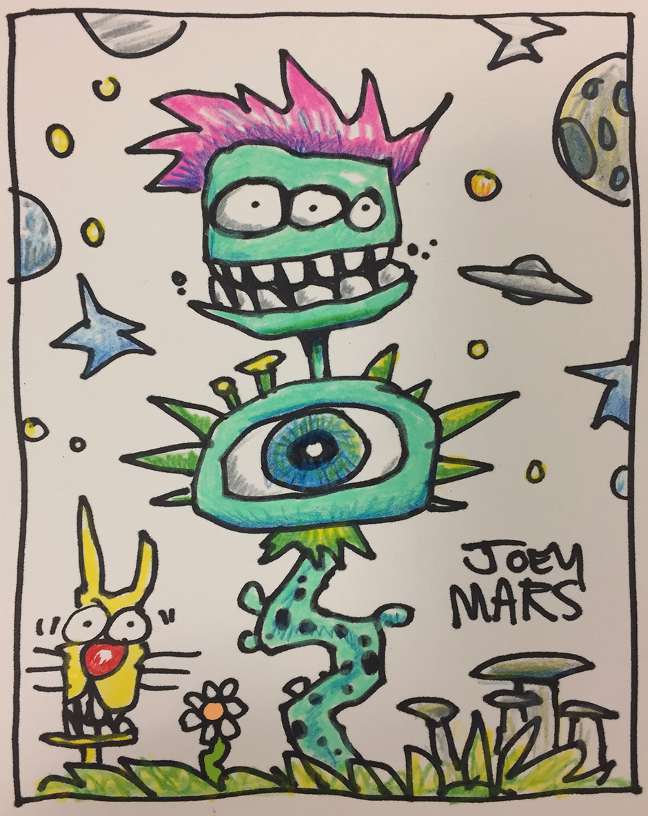 Cash Money Aliens by Joey Mars - 0305017