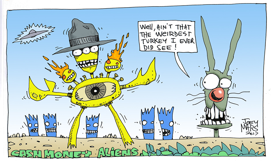 Cash Money Aliens by Joey Mars - 11232017