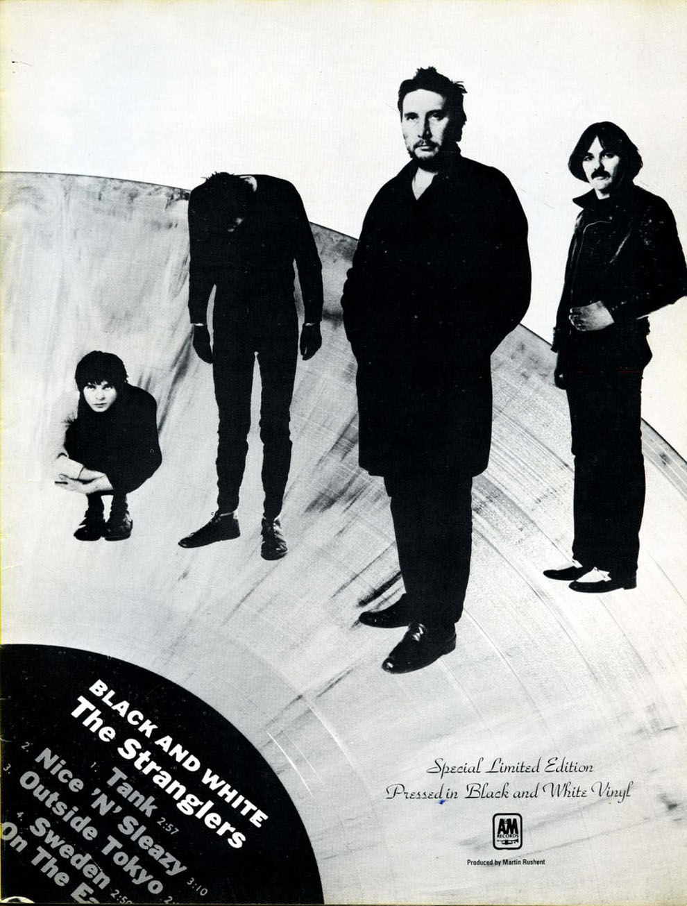 The Stranglers - Black & White Vinyl - Searching For The