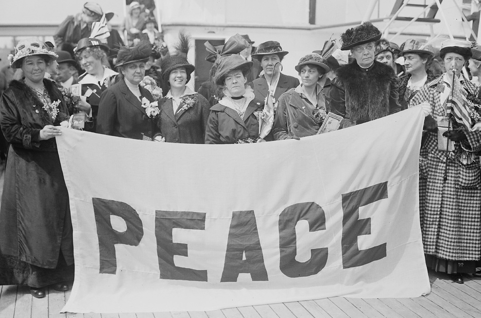 Mary Heaton Vorse: International Women's Peace Congress: 1915